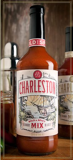 We love Bloody Mary mix from #Charleston Mix! #SpringtoCharleston #ShoppingGuide #PerfectSouvenir