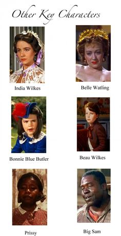 Other key characters - GWTW.
