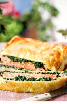 Low FODMAP and gluten free recipes ---- Salmon en croute --http://www.ibs-health.com/low_fodmap_salmon_en_croute.html