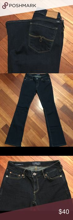 Lucky Brand Lolita Mid-Rise Jeans Women's, Dark Wash, Stretch. 82% cotton/ 17% polyester/ 1% spandex. NWOT. Lucky Brand Jeans Boot Cut