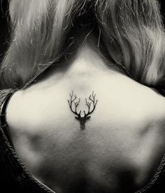 Image result for antler and thistle tattoo