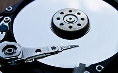 Hard disk drive wallpaper
