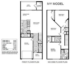 The Ivy townhome by Highland Homes offers 1,568 sq ft of living space with 3 bedrooms, 2.5 baths plus a 1-car garage. Enjoy an open living area, relax in the master suite with private bath, and two secondary bedrooms share a hall bath. Click for more info on this Tampa townhome! #DreamHome