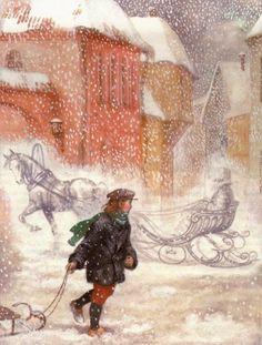 çizgili masallar: The Snow Queen by Anastasia Arkhipova