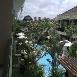 243 d'penjor seminyak View of the pool