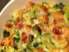 Ovenschotel met broccoli, kip en krieltjes