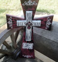 Decorative Crosses,Stacked Crosses,Wooden Cross,Rustic Cross ...