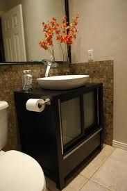 Toilets shelves and vanity sink on pinterest for Bathroom ideas 5x10
