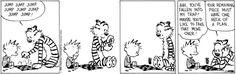 Calvin & Hobbes: Checkers.