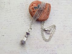 Chess Piece Charm Necklace