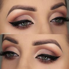 Gorgeous Makeup: Tips and Tricks With Eye Makeup and Eyeshadow – Makeup Design Ideas Wedding Eye Makeup, Natural Wedding Makeup, Bridal Makeup, Natural Makeup, Make Up Designs, Dramatic Eye Makeup, Makeup Lessons, Makeup Challenges, Types Of Makeup