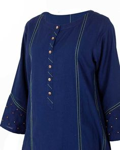 Salwar Suit Neck Designs, Kurta Neck Design, Neck Designs For Suits, Dress Neck Designs, Stylish Dress Designs, Designs For Dresses, Stylish Dresses, Casual Dresses, Salwar Pattern