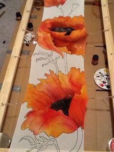 silk painting-