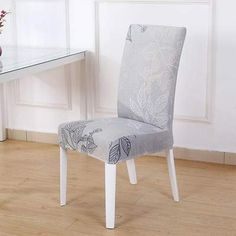 Chair cover Sunny style - Sunailoom Kitchen Table Chairs, Table And Chairs, Dining Chairs, Dining Room, Room Kitchen, Stretch Chair Covers, Spandex Chair Covers, Dining Seat Covers, Party Chairs