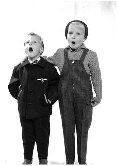 Stylish boys from Stylish Boys, 1950s, Hipster, Kids, Style, Fashion, Young Children, Swag, Moda
