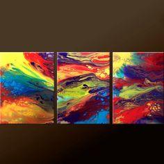 Marblelized Rainbows