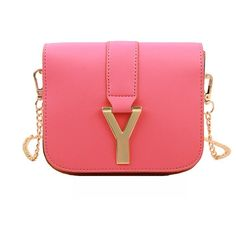 New Fashion Women Chain Bag PU Leather Candy Color Mini Crossbody... (19 SAR) ❤ liked on Polyvore featuring bags, handbags, shoulder bags, mini crossbody handbags, crossbody shoulder bags, red handbags, mini crossbody purse and red crossbody purse