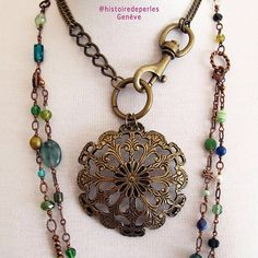 Why not assemble an old pendant from a belt to a chain with an XL clasp for a statement look ? one-of-a-kind statementjewelry Statement Jewelry, Costume Jewelry, Jewelry Accessories, Chain, Detail, Pendant, Instagram, Bracelets, Handmade