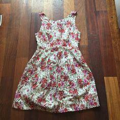 Floral Dress Size Medium