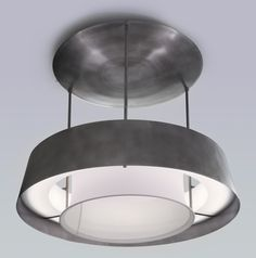 2410 The Led Ring Pendant Industrial, MidCentury Modern, Transitional, Metal, Lighting by Phoenix Day