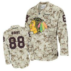 00a69df1c1a Patrick Kane Jersey - Buy 100% official Reebok Patrick Kane Men's Authentic Camouflage  Jersey NHL Chicago Blackhawks #88 Free Shipping.
