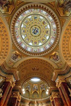 Hungary - Budapest - St Stephens Basilica interior   Flickr