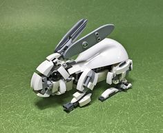 """""""LEGO Mecha Rabbit-01"""" by ToyForce 120: Pimped from Flickr"""