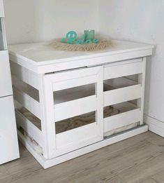 Pet Beds, Dog Bed, Wooden Dog House, Puppy Room, Diy Dog Crate, Dog Crate Furniture, Dog Cages, Ikea Bed, Dog Houses