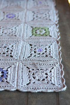 Crochet blanket - nice color scheme