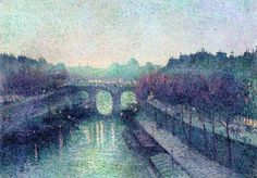 Maximilien Luce - The Pont Neuf, the Seine, the small arm (1900)