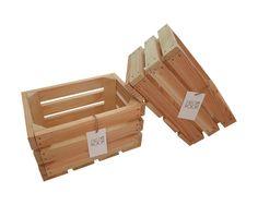 Drewniane Skrzynki dekoracyjne sosnowe 30x20x15 FR