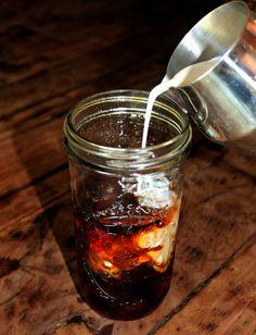 Homemade Caramel Iced Coffee