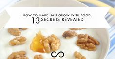 Learn how to make hair grow with these 10 very common and affordable foods that support healthy, strong hair. Make them part of your routine. Make Hair Grow, How To Make Hair, How To Do Nails, Food To Make, Thicken Hair Naturally, Hair Thickening, Secrets Revealed, Strong Hair, Healthy Habits