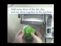How to condition dry old polymer clay