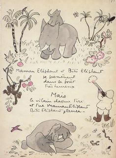 the art of babar #elephant