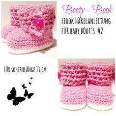 Ebook/ Häkelanleitung für Babybootys #2 von JolandaRegenbogen auf DaWanda.com