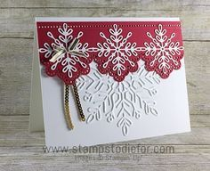 Swirly Snowflakes Thilits Dies by Stampin' Up! www.stampstodiefor.com