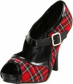 Funtasma by Pleaser Women's Tartan Sandal $22