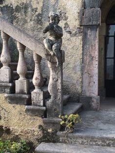 Particolare della scalinata.