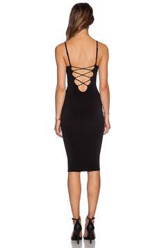 904a5ad03c3 Nookie Mi Amore Backless Shift Dress en Negro