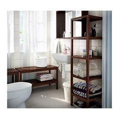 MOLGER Stellingkast - donkerbruin - IKEA