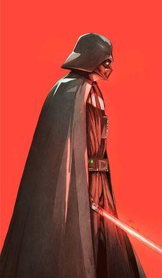 Darth Vader - Star Wars fan art by Chun Lo Star Wars Dark, Vader Star Wars, Star Wars Fan Art, Star Trek, Darth Vader Shirt, Anakin Vader, Anakin Skywalker, Darth Maul, Darth Vader Artwork