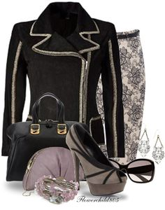 """""""FENDI EVENING OUT"""" by flowerchild805 ❤ liked on Polyvore"""
