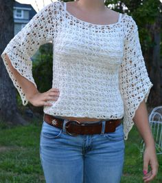 Hand Crocheted Shirt