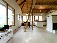 Il legno è più economico del cemento per costruire una casa antisismica