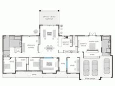 Barndominium plans with loft barndominium floor plans new butler cabin floor plan fresh 20 The Plan, How To Plan, Luxury Homes Dream Houses, Dream House Interior, Dream House Plans, House Floor Plans, Mcdonald Jones Homes, Barndominium Floor Plans, Farmhouse Plans