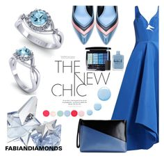 """FABIANDIAMONDS"" by selmir ❤ liked on Polyvore featuring Rosie Assoulin, Lanvin, Marni, Christian Dior, Thierry Mugler, Topshop, Nails Inc., Lauren B. Beauty, jewelry and rings"
