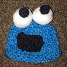Innocent Smoothies Big Knit Hat Patterns Cookie Monster