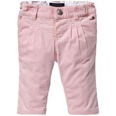 pantalon capri rosa