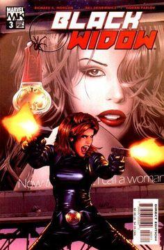 Black Widow Vol. 4 # 3 by Greg Land & Matt Ryan